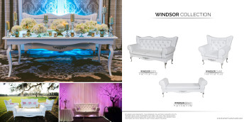 Template for Chic Event Furniture Catalog