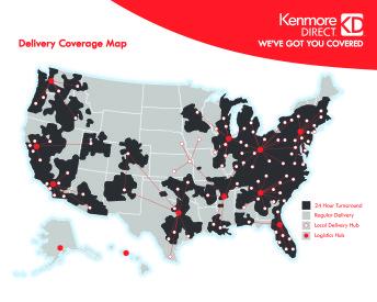 KENMORE MAP