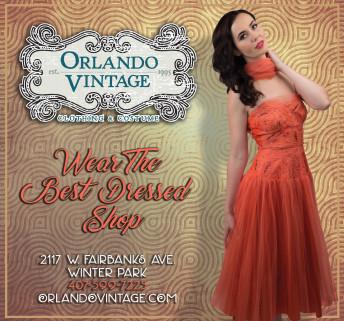 Orlando Vintage Playbill Advertisement