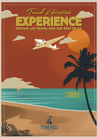 "Trend Aviation ""Experience"" Poster"