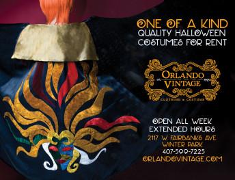 Orlando Vintage Halloween Ad