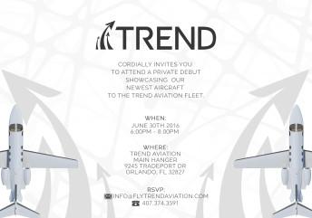 Trend Aviation Invitation