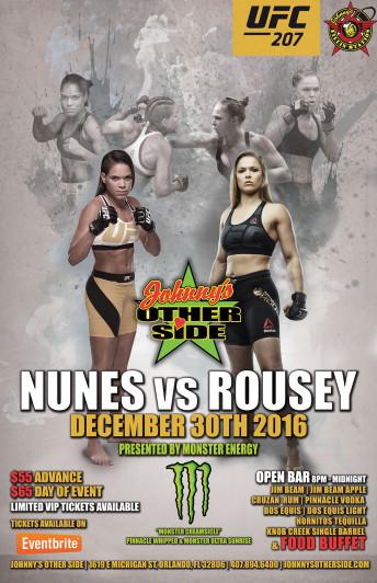 UFC Fight Flyer design